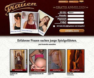 ReifeFrauen.com ist spezialisiert auf Sexdates mit Hausfrauen und MILFs